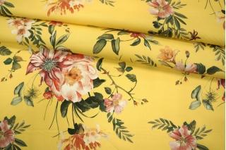Поплин рубашечный цветочный PRT-G6 10121905