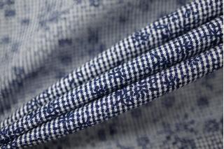 Рубашечный бело-синий хлопок PRT-B3 10121913