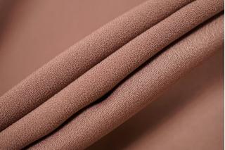 Кади розовое какао двусторонняя креп-атлас PRT-I5 03111901