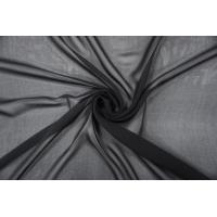 Шифон шелковый черный PRT-H2  03111902