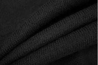 Шерстяной трикотаж черный PRT-Q3 05111931