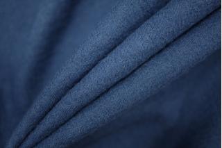 Тонкий трикотаж шерстяной темно-синий PRT-D4 05111935