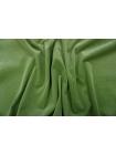 Вельвет хлопковый зеленый PRT E2 12111901