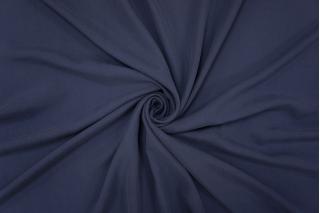 Шелк вареный плательный темно-синий PRT-H1 12111913