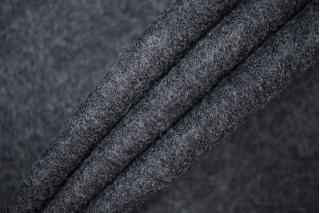 Трикотаж вязаный темно-серый PRT-D5 28101905