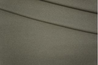 Трикотаж вязаный серо-оливковый PRT D3-28101907