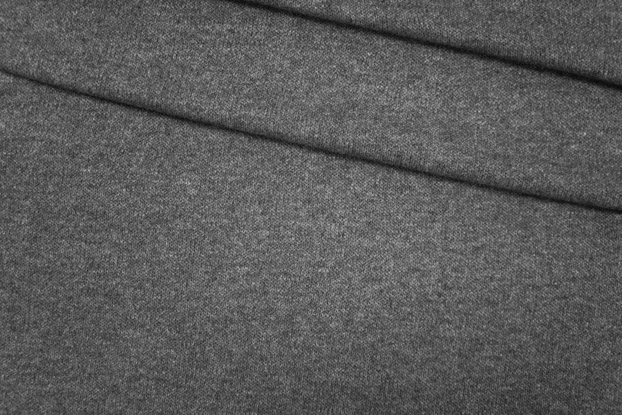 Трикотаж вязаный серый PRT-T4 28101908