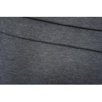 Трикотаж вязаный темно-серый PRT E6 21101901