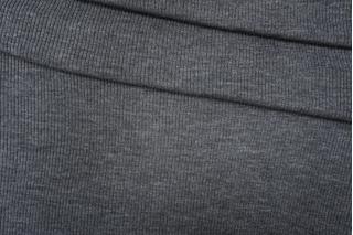 ОТРЕЗ 1,3 М Трикотаж вязаный темно-серый PRT E6 21101901-2
