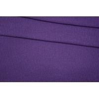 ОТРЕЗ 0,35М Трикотаж вязаный фиолетовый PRT E6 21101904-1