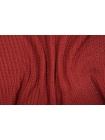 ОТРЕЗ 2М Трикотаж вязаный темно-красный PRT 21101905-1