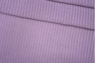 Трикотаж вязаный лиловый PRT-Т3 21101907