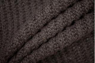 Трикотаж вязаный коричневый PRT-T3 21101916