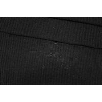 ОТРЕЗ 2,5М Трикотаж вязаный черный PRT Т4 21101920-1