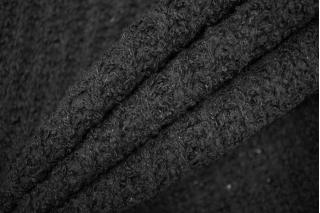 Трикотаж вязаный черный PRT Т4 21101920