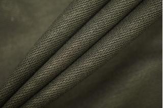 Джерси вискозный цвет темный хаки PRT D3 21101925