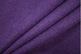 Трикотаж вязаный фиолетовый PRT-E6 21101930