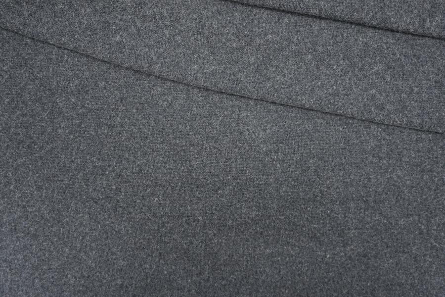 Трикотаж вязаный темно-серый PRT-D5 21101931