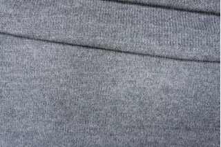 Трикотаж вязаный темно-серый PRT-Q2 21101934