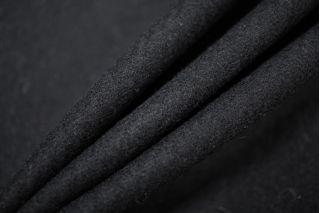 Костюмная шерсть плотная черная PRT-G5 05091919