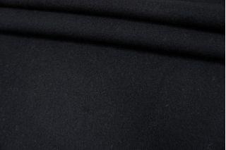 Пальтовый тонкий шерстяной велюр черный PRT-F5 05091928