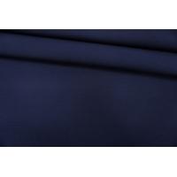 Костюмная шерсть двусторонняя темно-синяя PRT-J5 06091917