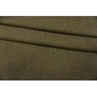 Костюмная шерсть коричнево-зеленая PRT-T2 08091919