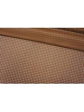 ОТРЕЗ 0,6 М Кожзам перфорированный коричневый PRT-I2 01121908-2