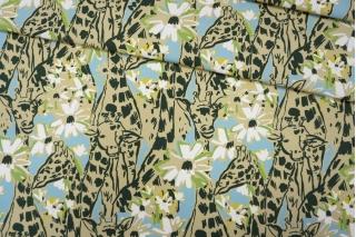 Джинса-стрейч жирафы MIU MIU PRT-A4 01121912