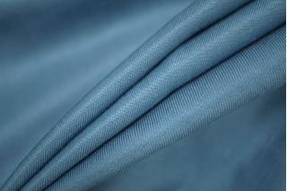 Костюмный шелк с хлопком голубой PRT 05121926