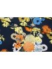 Креп-кади вискозный цветы PRT-H6 09121916