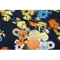 ОТРЕЗ 1,4 М Креп-кади вискозный цветы PRT-I5 09121916-1