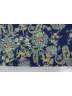 Плательная вискоза цветы-пейсли PRT-H5 09121917