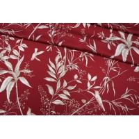 ОТРЕЗ 1,1 М Сатин вискозный цветочный PRT-H5 09121921-1