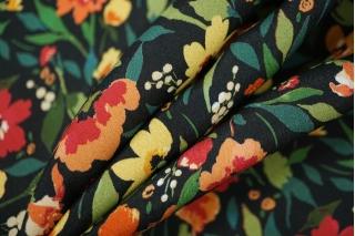 Креповая вискоза цветы PRT-H5 09121930
