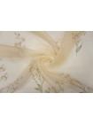 Шелковая органза цветы PRT-AA3 17121901