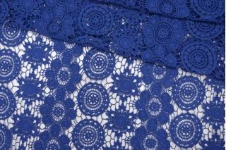 ОТРЕЗ 1 М Макраме хлопковое синее PRT-(52)- 20121903-1