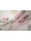 Шелковая органза цветы PRT-С3 20121905