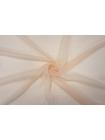 ОТРЕЗ 2,5 М Шифон шелковый-креш светлый персик PRT-(34)- 20121907-1