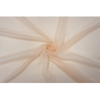 Шифон шелковый-креш светлый персик PRT-С3 20121907