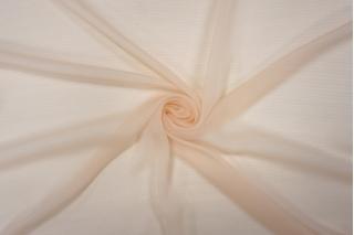 Шифон шелковый-креш светлый персик PRT-G2 20121907