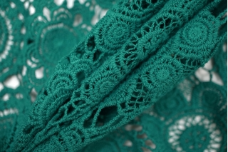 Макраме хлопковое бирюзово-зеленое PRT-B4 20121908