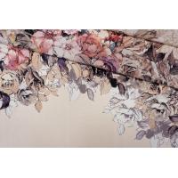 Атлас шелковый цветы PRT 20121913