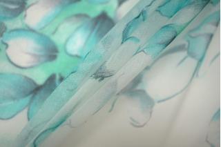Шелковая органза лепестки PRT-G2 20121917