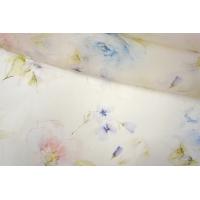 Шелковая органза цветы PRT-С3 20121923