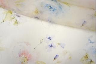 Шелковая органза цветы PRT-G2 20121923