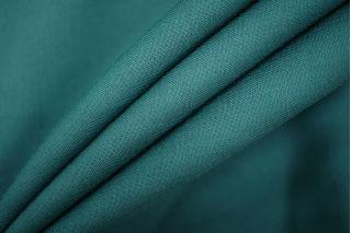 Плательная шерсть с шелком изумрудная PRT-E7 01091908