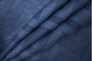 Трикотаж зигзаг темно-синий PRT-D3 03091913