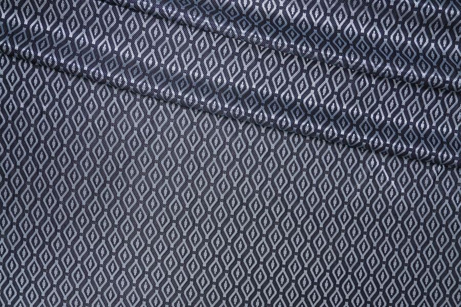 Трикотаж холодный вискозный ромбы PRT-D4 03091915