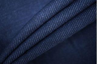 Костюмно-пальтовый хлопок синий PRT-W6 05091906